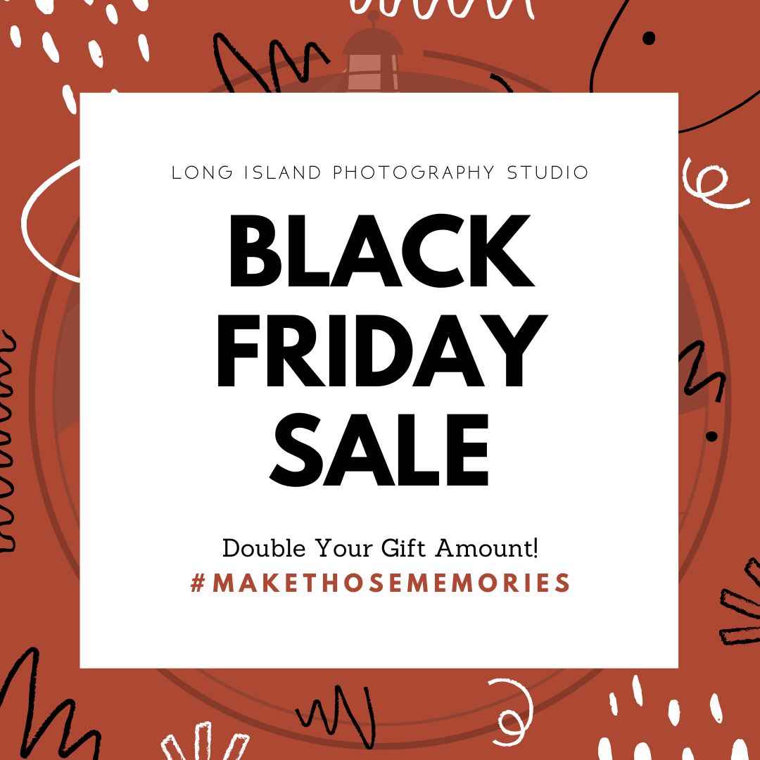 black friday sale for long island photography studio